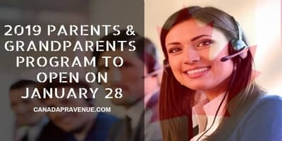 2019 Parents and Grandparents Program to Open January 28