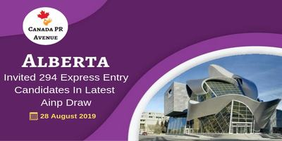 Alberta Invited 294 Express Entry Candidates in Latest AINP Draw