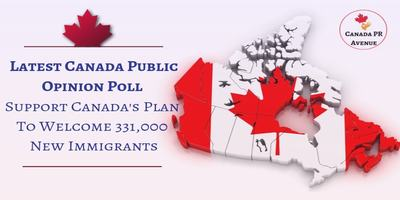 Majority Support Canada Plan to Welcome 331,000 New Immigrants