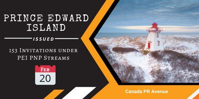 PEI Announced Second Draw of 2020