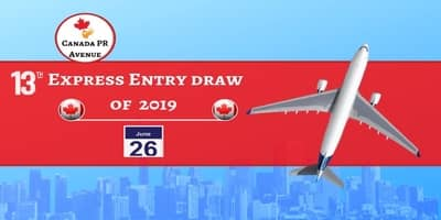 Latest Express Entry Draw Opened on June 26, 2019