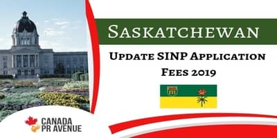 SINP Application Fees is Updated with Effect from 1st April 2019